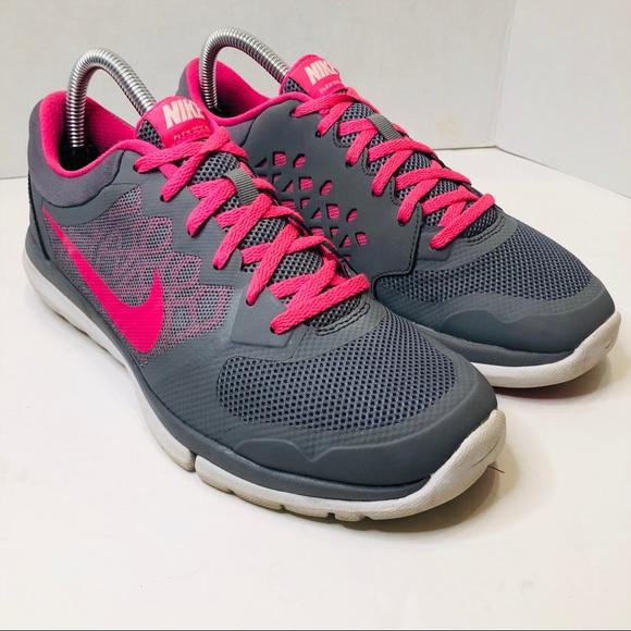 VGC! Nike Flex 2015 Run Womens Size 8.5 Running